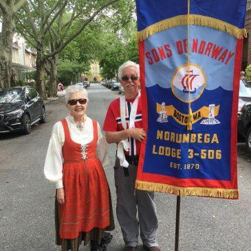 The 17.mai Parade in Brooklyn, NY, May 20, 2018.