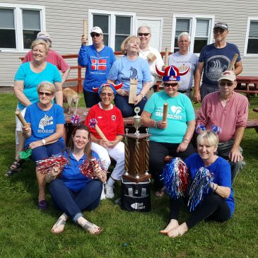 First ever District wide Kubb tournament